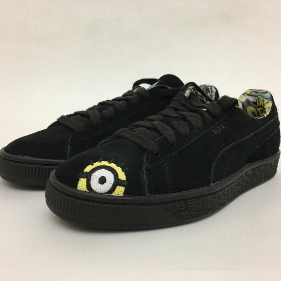 Puma Shoes   Minions X Puma Suede Mens